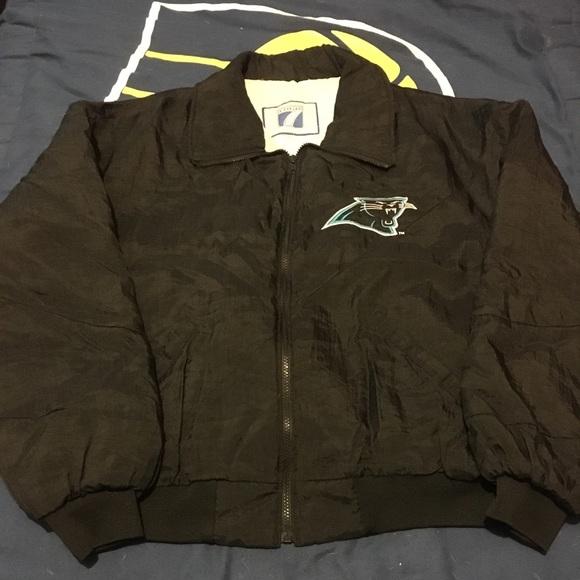 """b119bd1c7 Logo 7 Other - Vintage Logo 7 """"Carolina Panthers"""" jacket"""